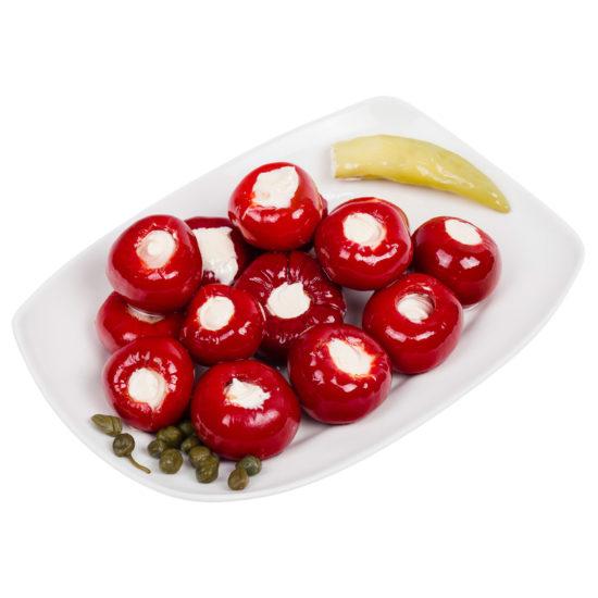 oryginalne greckie papryczki cherry nadziewane serem