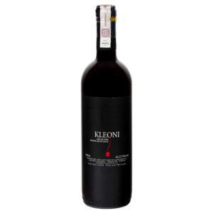 wino greckie wytrawne Kleoni czerwone
