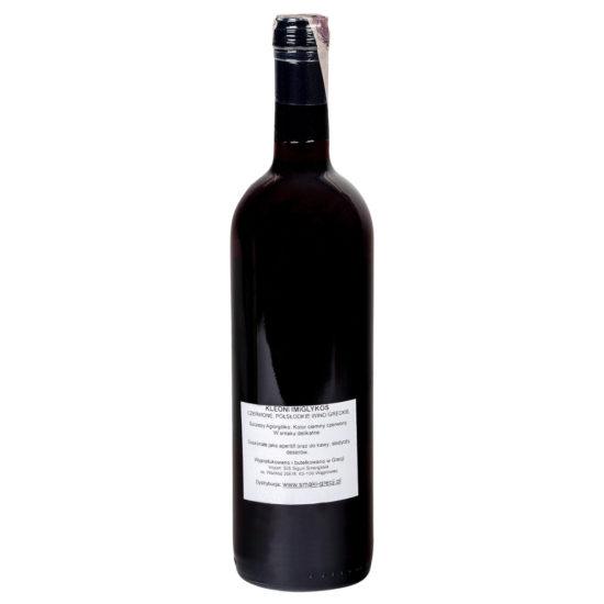 wino greckie Kleoni Imiglykos czerwone b