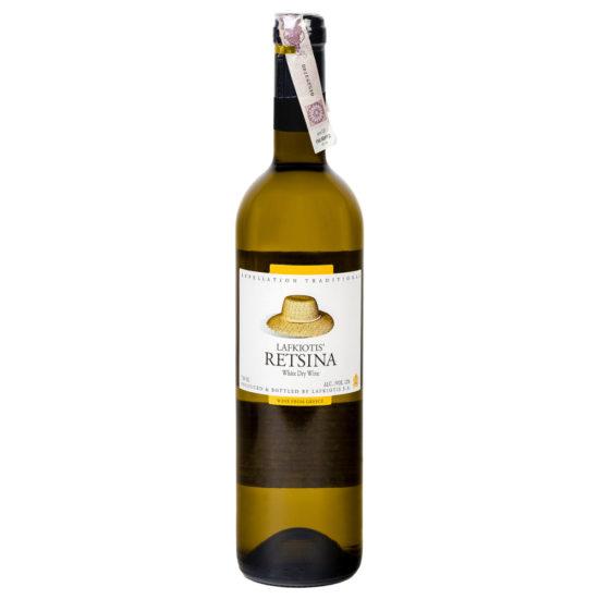 wino greckie wytrawne Retsina