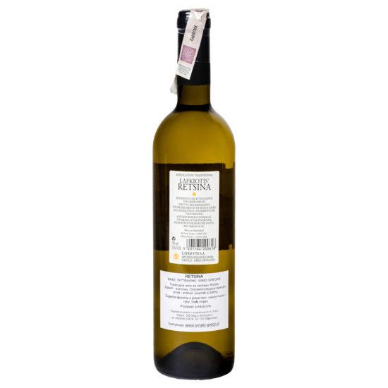 wino greckie wytrawne Retsina b