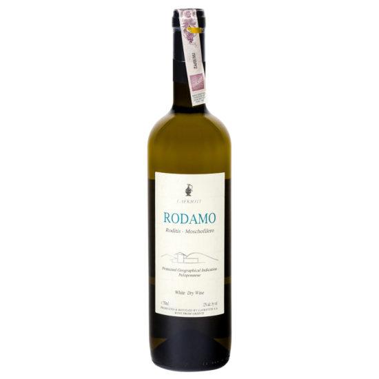 wino greckie wytrawne Rodamo