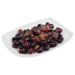 oryginalne greckie produkty -greckie oliwki czarne Kalamon