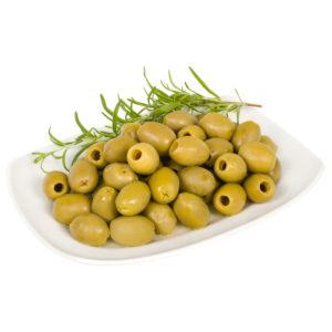 oryginalne greckie produkty - greckie oliwki zielone