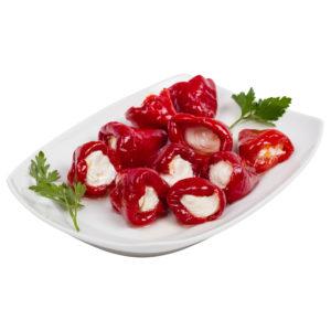 greckie papryczki nadziewane serem