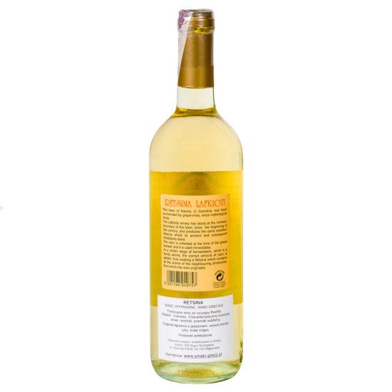 wino greckie wytrawne Retsina wz b