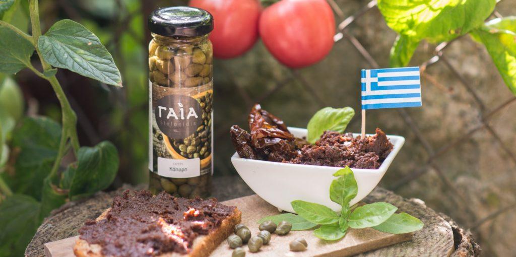 Oryginalne produkty greckie - pomidory szuszone