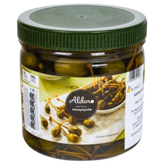 oryginalne produkty greckie - jabłuszka kaparów - smaki grecji