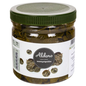 oryginalne produkty greckie - liście kaparów - smaki grecji