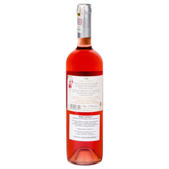 wino greckie wytrawne Rose Lafkioti b