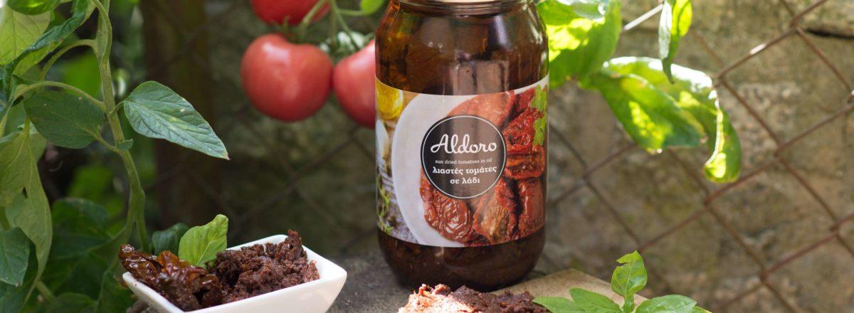 oryginalne greckie pomidory suszone na słońcu