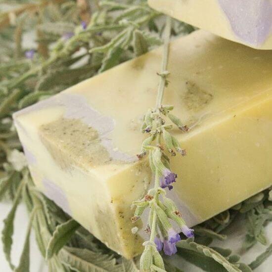 oryginalne greckie produkty - mydło z oliwą z oliwek - mydło z lawendą
