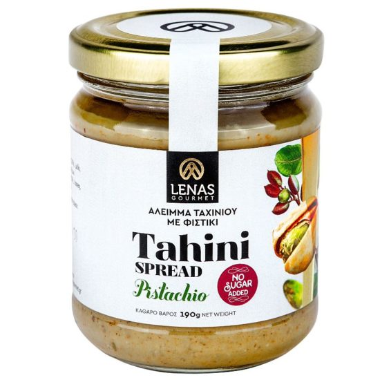 greckie tahini z pistacjami bez cukru, Lenas Gourmet